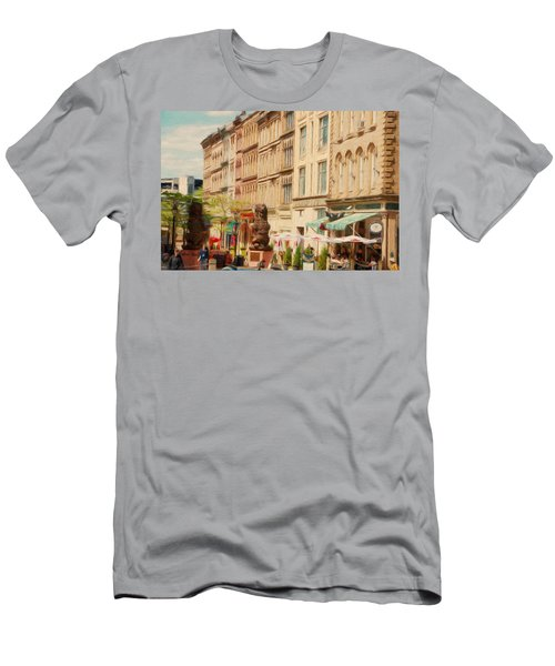 Springtime In Halifax Men's T-Shirt (Athletic Fit)
