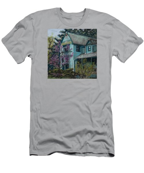 Springtime In Old Town Men's T-Shirt (Athletic Fit)