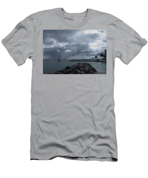 Squall In Simpson Bay St Maarten Men's T-Shirt (Athletic Fit)