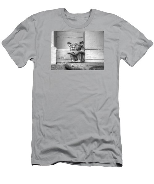Men's T-Shirt (Athletic Fit) featuring the photograph Squatter by Michael Colgate
