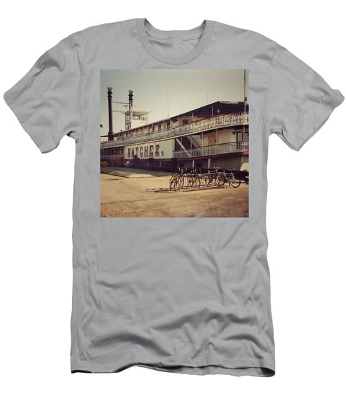 Ss Natchez, New Orleans, October 1993 Men's T-Shirt (Slim Fit) by John Edwards