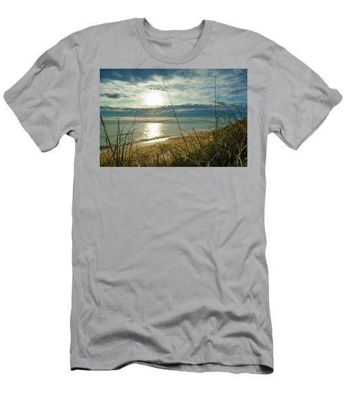 St Aug Sunrise Men's T-Shirt (Slim Fit) by Josy Cue