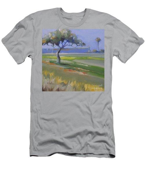St. Augustine Spanish Castillo Men's T-Shirt (Slim Fit) by Mary Hubley