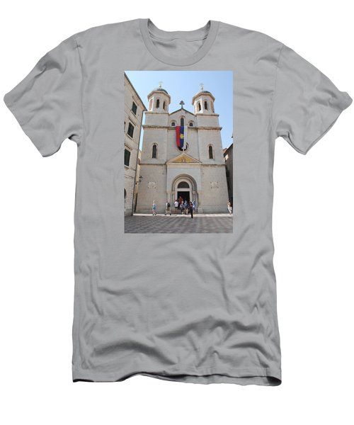 St Nicholas Kotor Men's T-Shirt (Athletic Fit)