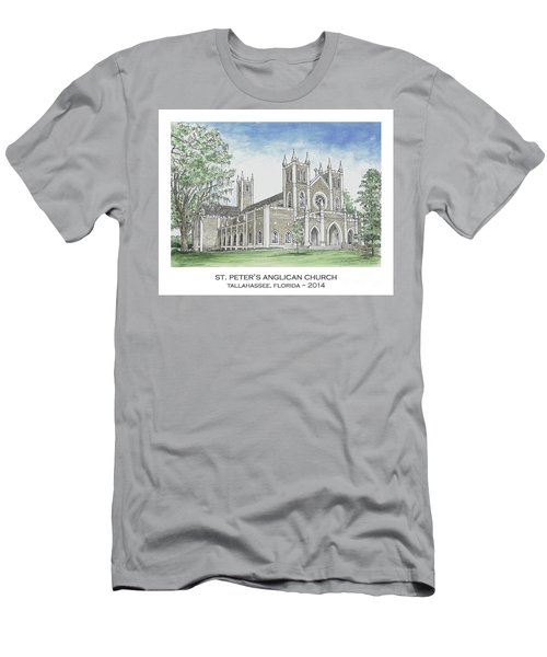 St. Peter's Anglican Church Men's T-Shirt (Athletic Fit)