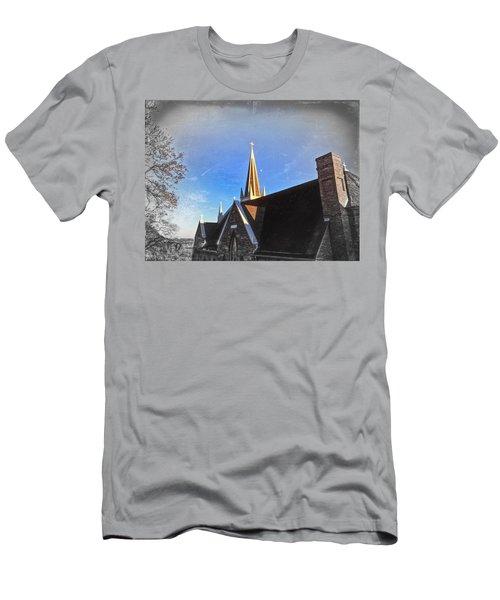 St. Peter's Spire Men's T-Shirt (Athletic Fit)