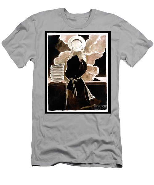 St. Therese Doing The Dishes - Mmdtd Men's T-Shirt (Athletic Fit)