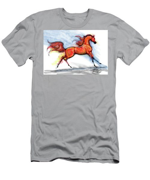 Staceys Arabian Horse Men's T-Shirt (Athletic Fit)