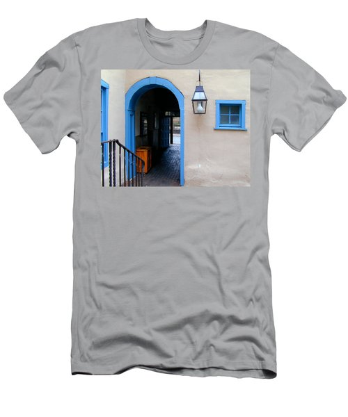 Men's T-Shirt (Athletic Fit) featuring the photograph Stairs To The Tunnel To The Door by Joseph R Luciano