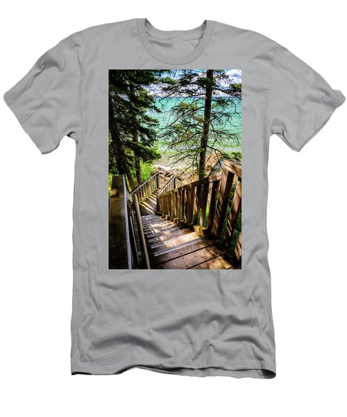 Stairways To Paradise Men's T-Shirt (Athletic Fit)