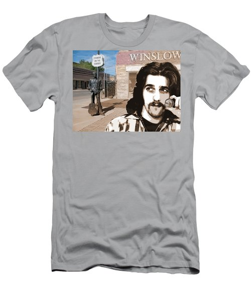 Standin On The Corner Men's T-Shirt (Athletic Fit)