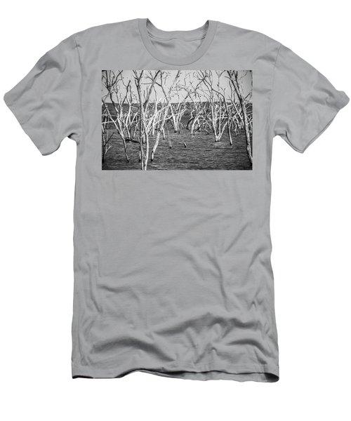 Standing Still Men's T-Shirt (Athletic Fit)