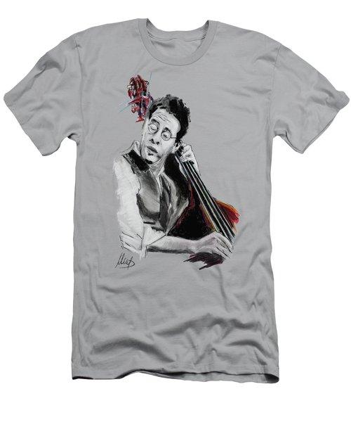 Stanley Clarke Men's T-Shirt (Slim Fit) by Melanie D