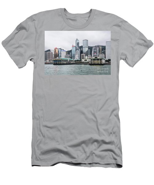 Star Ferry Building Terminal In The Central Business District Of Men's T-Shirt (Athletic Fit)