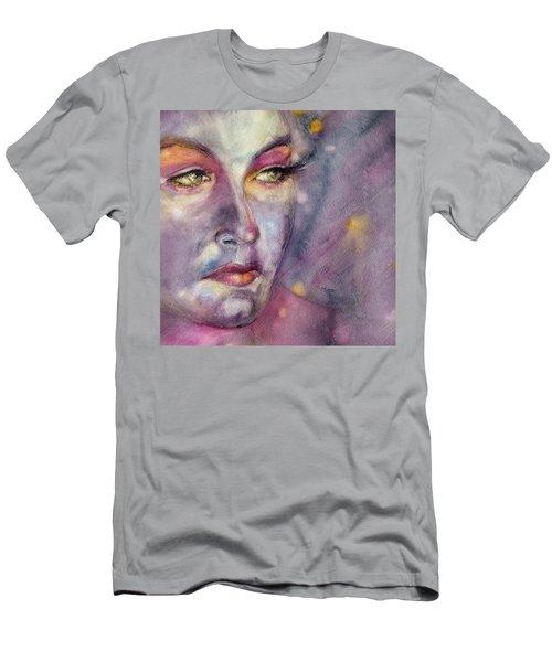Star Gazer Men's T-Shirt (Slim Fit) by Judith Levins