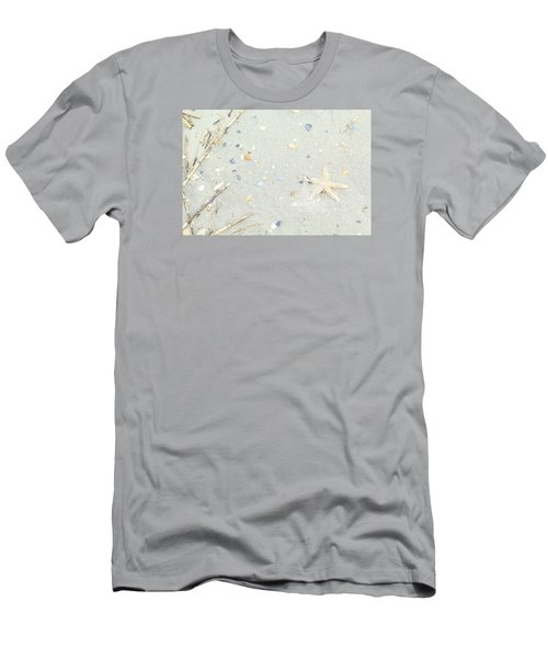 Men's T-Shirt (Slim Fit) featuring the photograph Starfish.... by Tammy Schneider