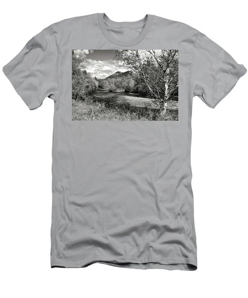 Stark, Nh Back Road  Men's T-Shirt (Athletic Fit)