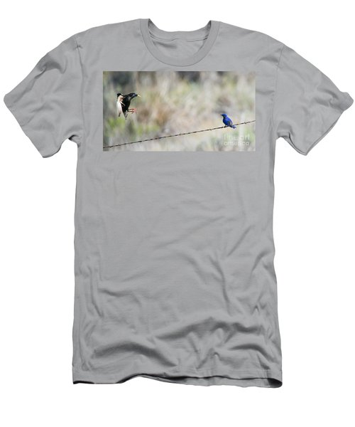 Starling Attack Men's T-Shirt (Athletic Fit)