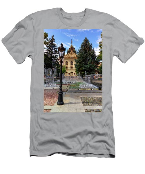 State Theater In The Old Town, Kosice, Slovakia Men's T-Shirt (Athletic Fit)