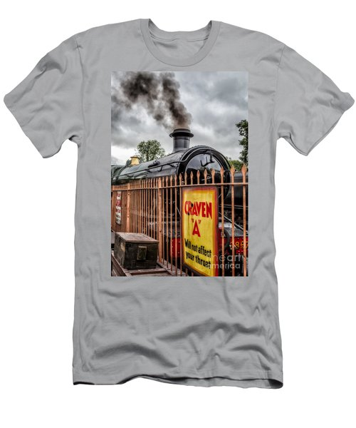 Station Signs Men's T-Shirt (Athletic Fit)
