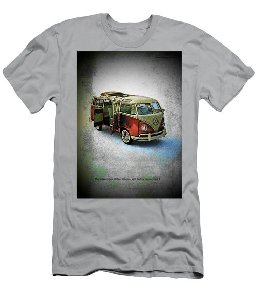 Station Wagon Men's T-Shirt (Slim Fit) by John Schneider