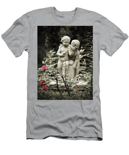 Statue Of Love Men's T-Shirt (Athletic Fit)