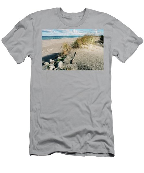 Men's T-Shirt (Athletic Fit) featuring the photograph Stavanger Shore by KG Thienemann