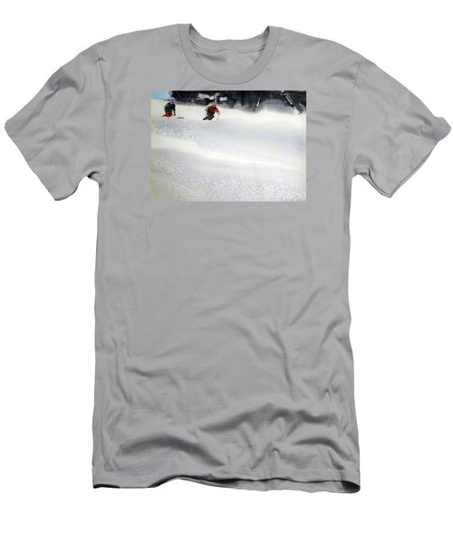 Men's T-Shirt (Slim Fit) featuring the painting Sugar Bowl by Ed Heaton