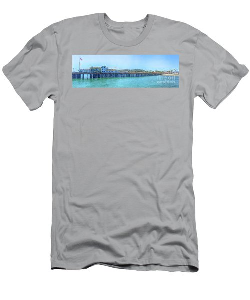Stearns Wharf Men's T-Shirt (Athletic Fit)