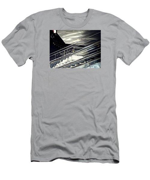 Steps Men's T-Shirt (Slim Fit) by Sarah Loft