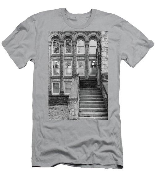 Steps Up Men's T-Shirt (Athletic Fit)