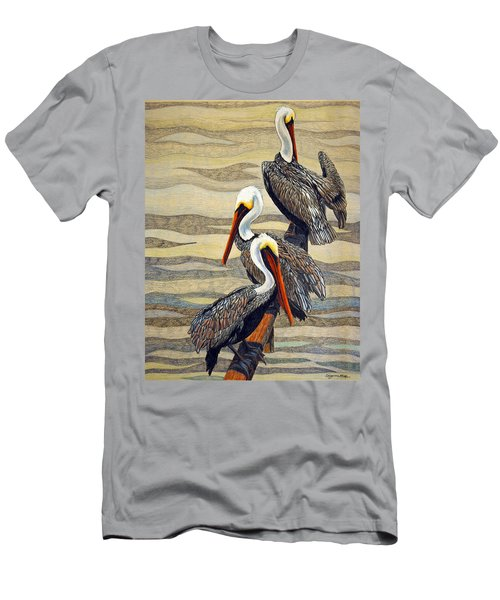 Steves Fishing Buddies Men's T-Shirt (Slim Fit)