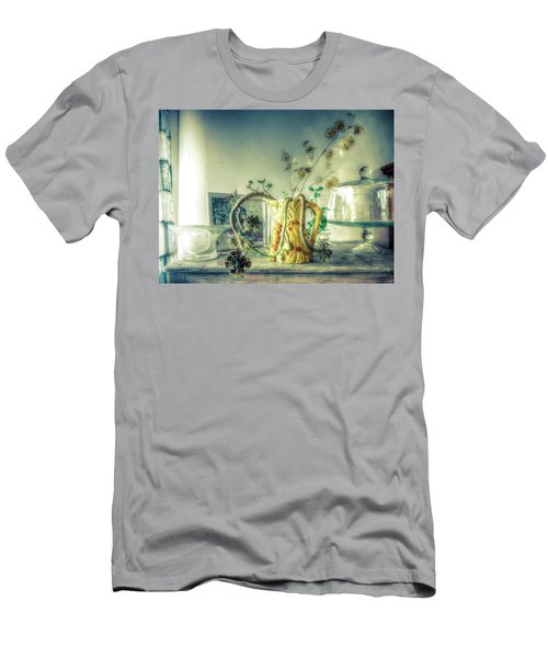 Men's T-Shirt (Slim Fit) featuring the photograph Still, Life Goes On by Wayne Sherriff