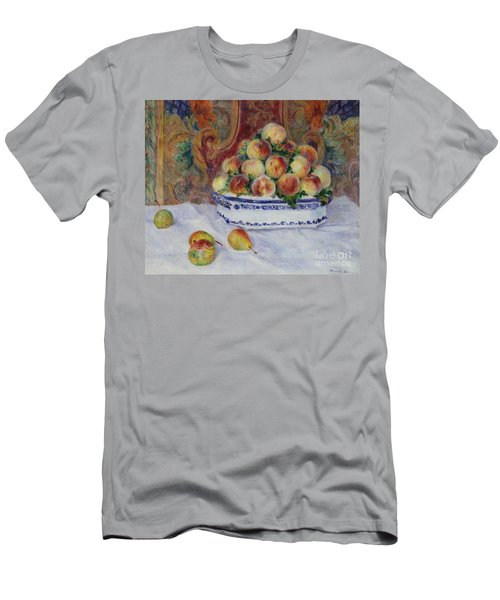 Still Life With Peaches, 1881 Men's T-Shirt (Athletic Fit)