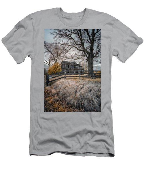 Still Standing Ir Men's T-Shirt (Slim Fit) by Paul Seymour