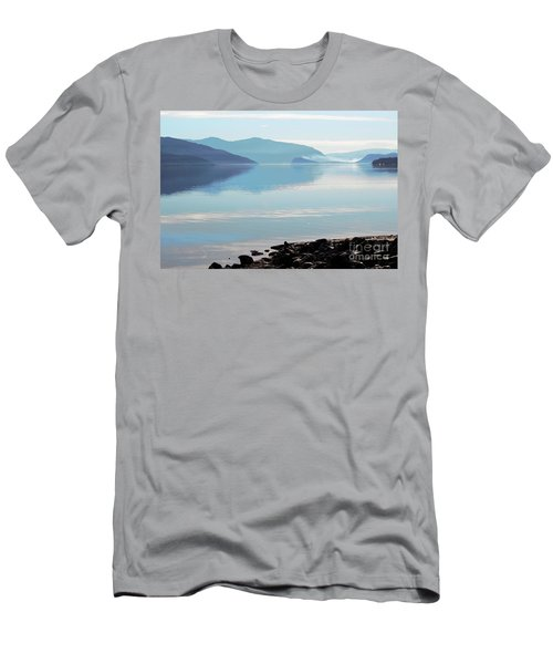 Men's T-Shirt (Slim Fit) featuring the photograph Still by Victor K