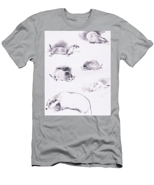 Stoat, Weasel, Badger And Mole Men's T-Shirt (Athletic Fit)
