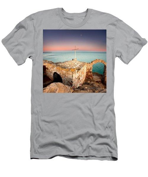 Stone Chapel Men's T-Shirt (Athletic Fit)