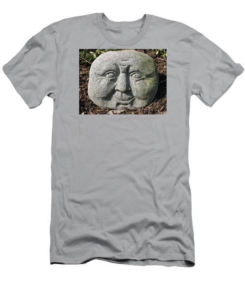 Men's T-Shirt (Athletic Fit) featuring the photograph Stoneface by Charles Kraus
