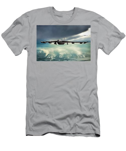 Men's T-Shirt (Slim Fit) featuring the digital art Storm Cell by Peter Chilelli