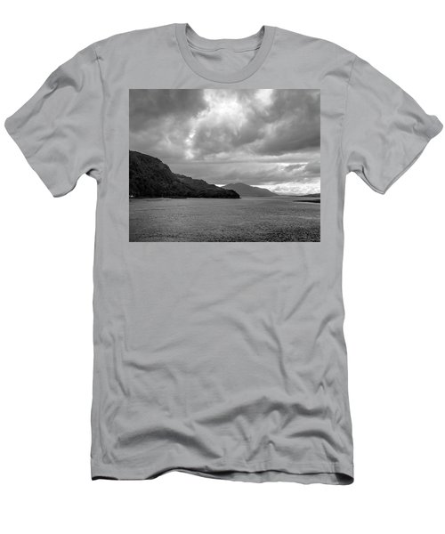 Storm On The Isle Of Skye, Scotland Men's T-Shirt (Athletic Fit)