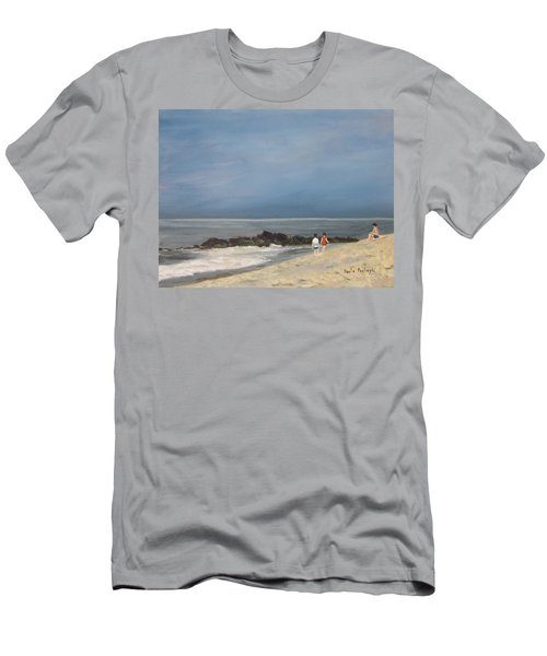 Storm Out To Sea Men's T-Shirt (Athletic Fit)