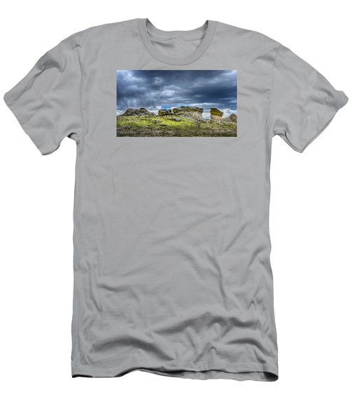 Stormy Peak 3 Men's T-Shirt (Slim Fit) by Mary Angelini