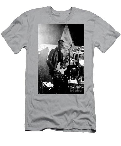 Stp-2000-robert-0935 Men's T-Shirt (Slim Fit) by Timothy Bischoff