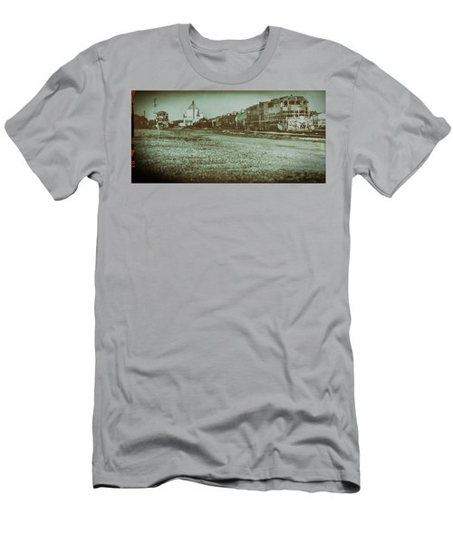 Stratford Train Yard, 2016 Men's T-Shirt (Athletic Fit)
