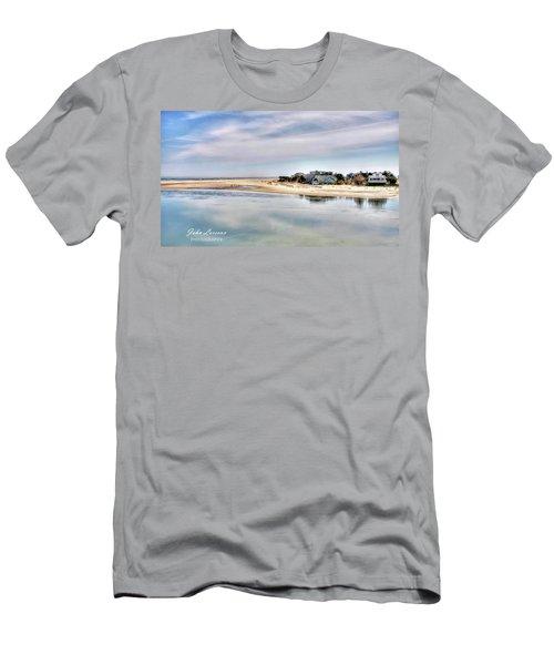 Strathmere Men's T-Shirt (Slim Fit) by John Loreaux
