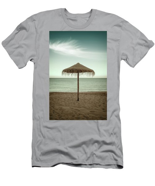 Men's T-Shirt (Slim Fit) featuring the photograph Straw Shader by Carlos Caetano