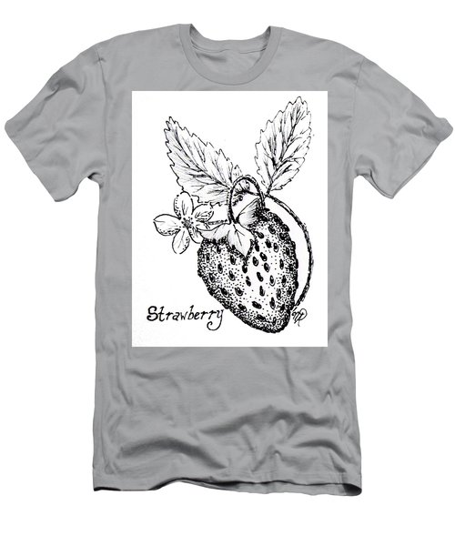 Strawberry Dreams Men's T-Shirt (Athletic Fit)