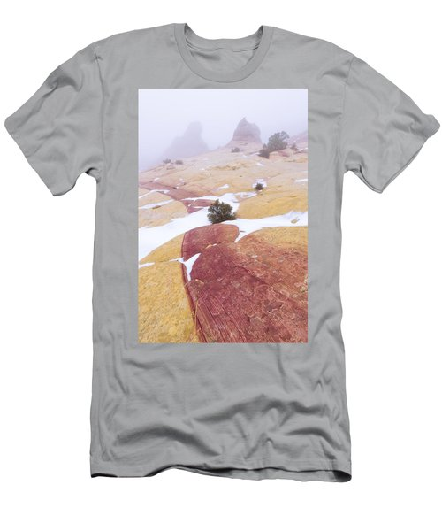 Men's T-Shirt (Slim Fit) featuring the photograph Stripe by Chad Dutson