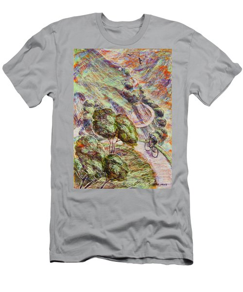 Striving To Sotres 1 Men's T-Shirt (Slim Fit) by Mark Jones